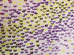 Little Butterfly purple and gold - Fabric - Price Per Metre